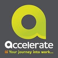 The Accelerate logo