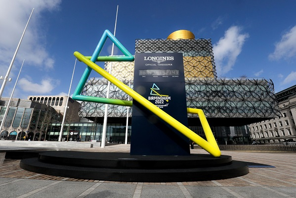 Countdown clock to Birmingham 2022 Commonwealth Games