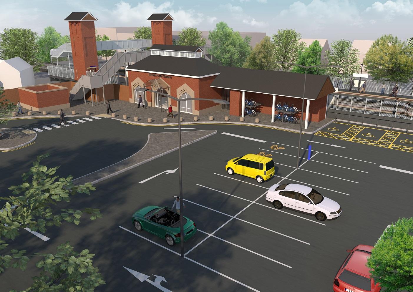 Kenilworth Station concept design