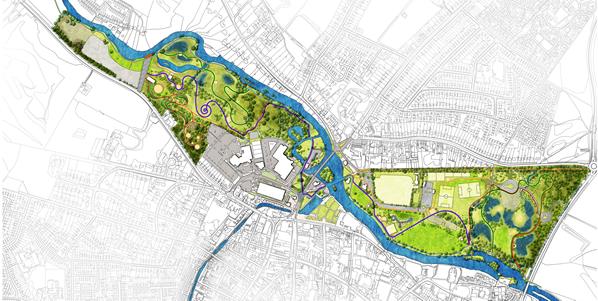 Stratford-upon-Avon Riverside Green Corridor