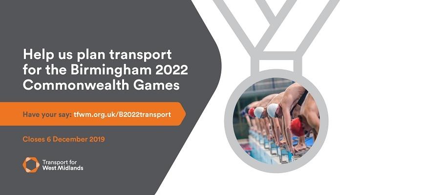 Transport for West Midlands campaign poster