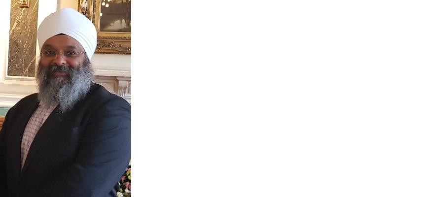Amrick Singh Ubhi co-chair of the Mayor's Faith Steering Group