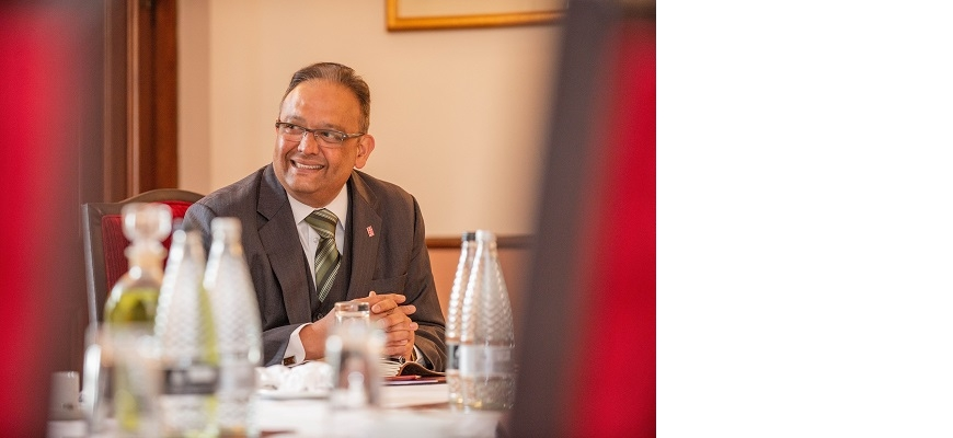 Ajay Desai of the Coventry and Warwickshire Chamber of Commerce