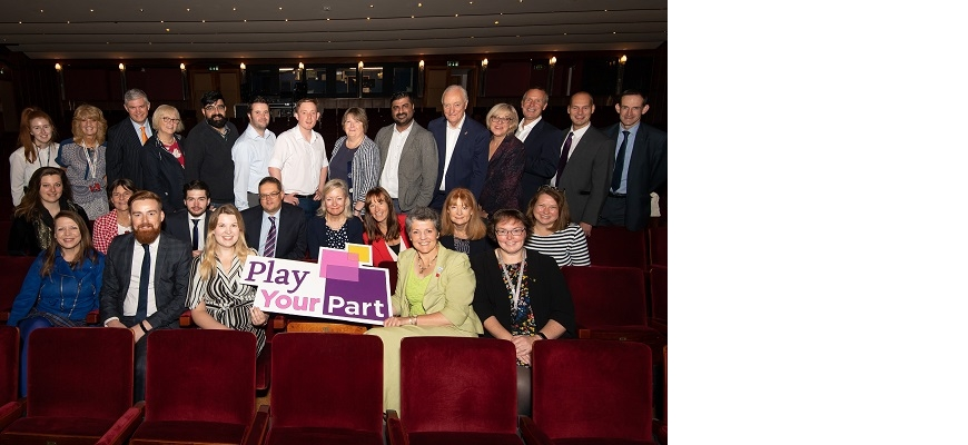 Play Your Part campaign at Belgrade Theatre
