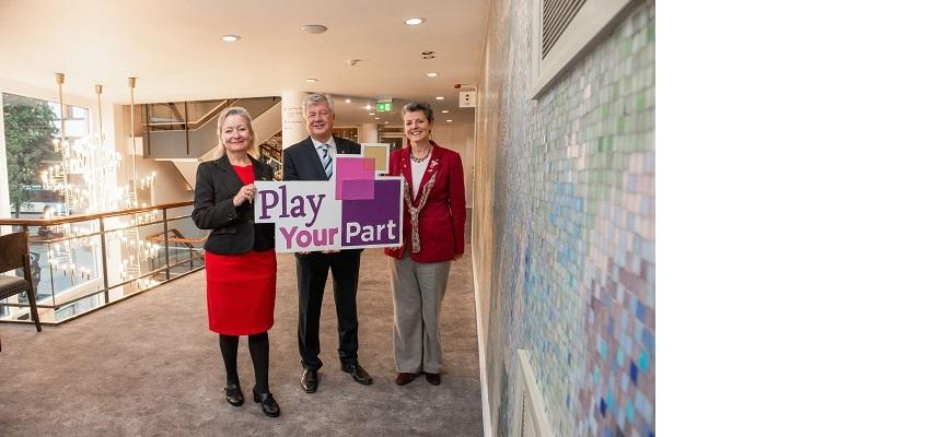 (left to right): Leigh Hunt (CityFibre), David Shortland (Shortland Horne), Joanna Reid (Belgrade)