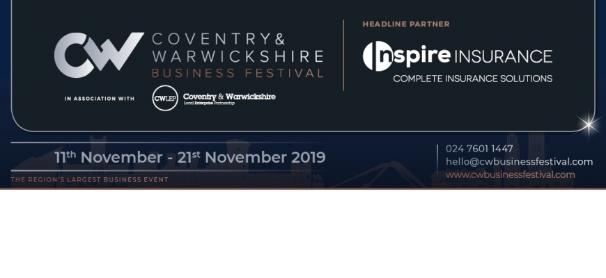The 2019 Coventry and Warwickshire Business Festival brochure