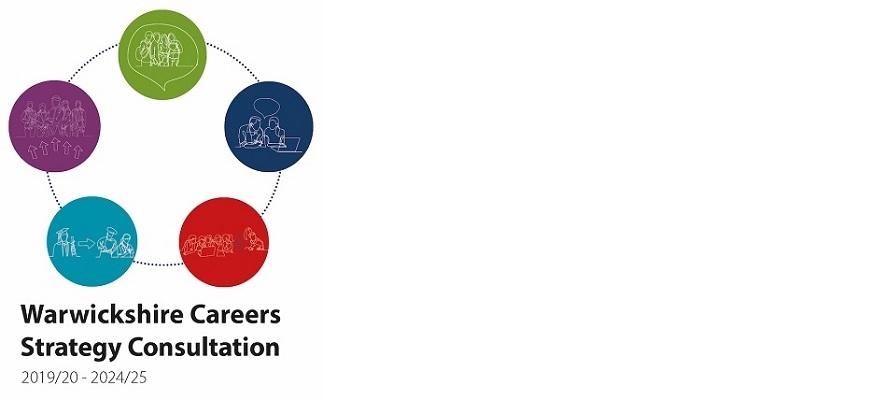 Warwickshire Careers Strategy diagram