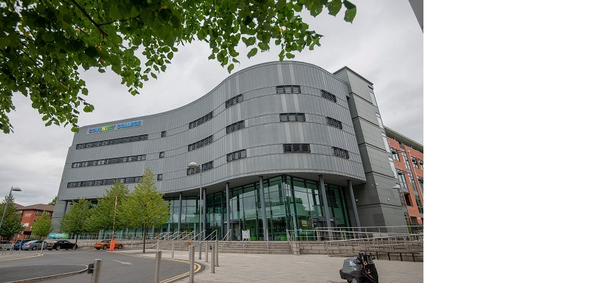Front of Coventry college building