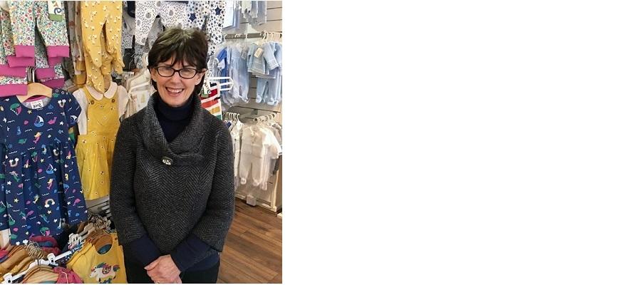 Linda Malik, owner of Eliza Doolittle Childrenswear.
