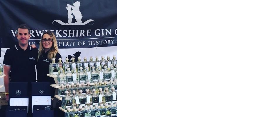 Two staff members of Warwickshire Gin Company