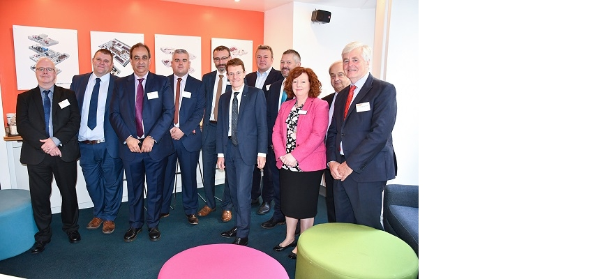 Team members of the West Midlands Grand Rail Collaboration (GRC)