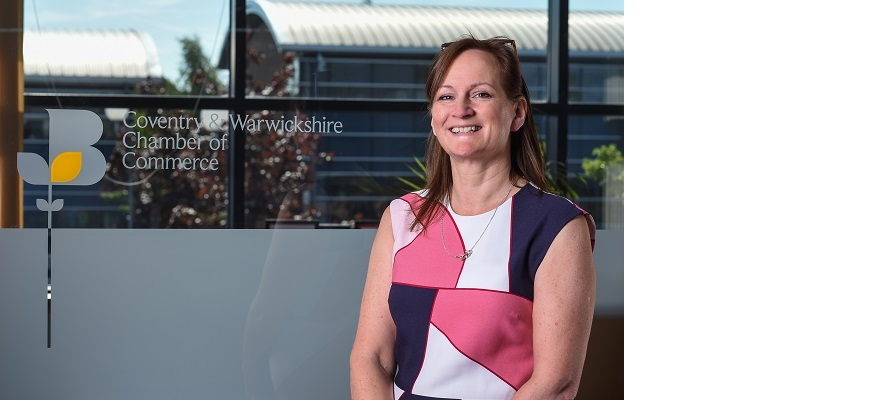 Helena Bassett of the Coventry and Warwickshire Chamber of Commerce