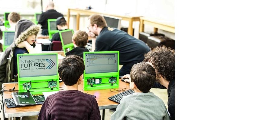 Interactive Futures will give children and young adults the chance to discover the career opportunities in video games