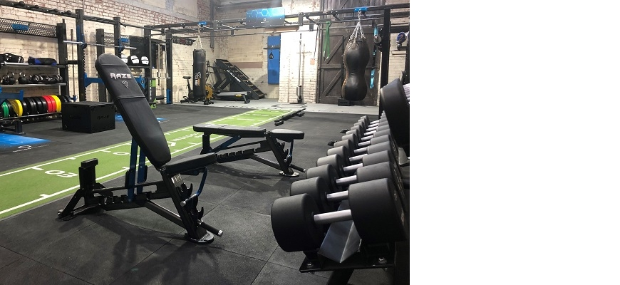 The studio at Indigo Fitness