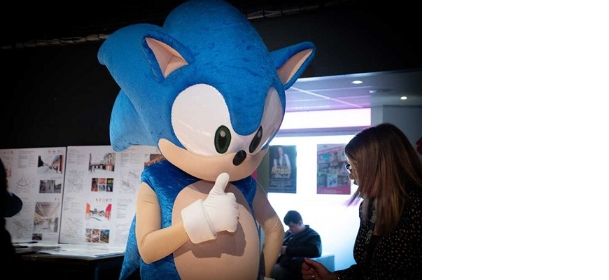 Sonic the Hedgehog at Interactive Futures