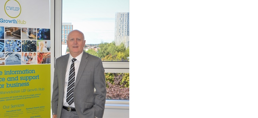 Jim Clark, account manager at the CWLEP Growth Hub