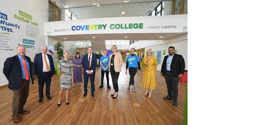 Keir Starmer at Coventry College