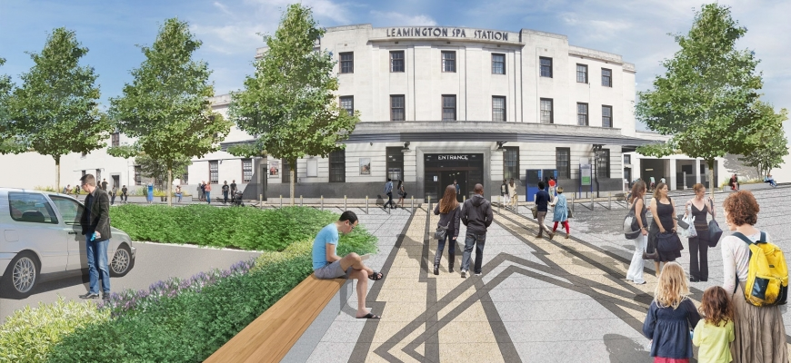 Concept for Leamington Spa station