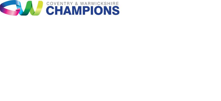 CW Champions logo