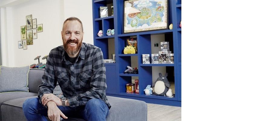 Phil Warner, Head of Art at Mediatonic