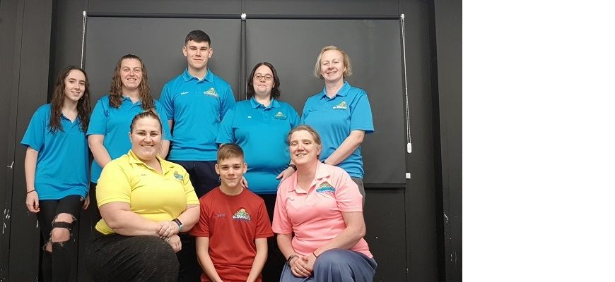 Staff at Octanauts Swim School