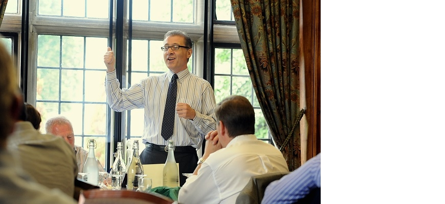 Mark Pawsey meeting the Chamber prior to the COVID-19 crisis