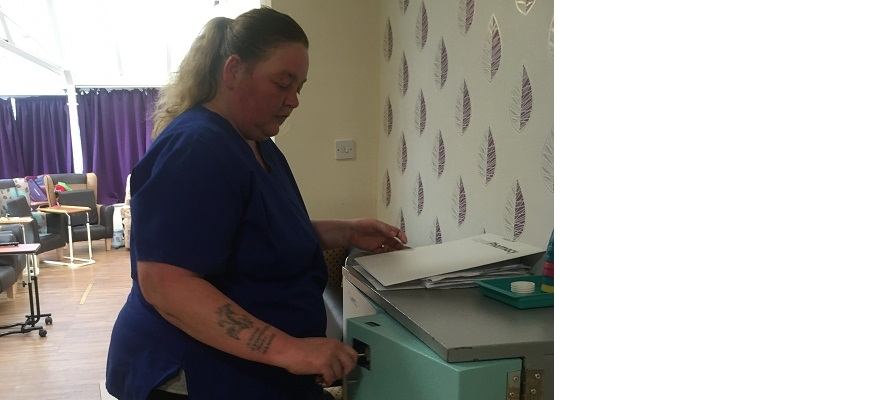 Samantha Danks from Castle Meadows Nursing Home in Dudley