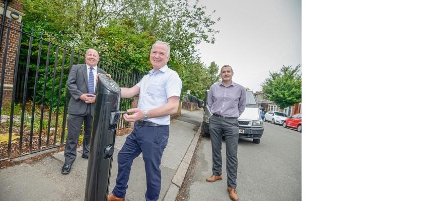 Cllr Jim O'Boyle (Coventry City Council), Anthony Evans (Sarginsons) and Gavin Shipley (Sarginsons)
