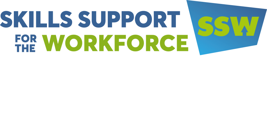 Poster for Skills Support for the Workforce