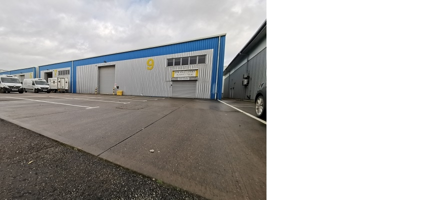 Spitfire Close at Coventry Business Park