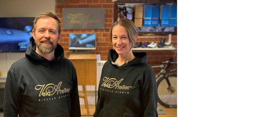 Lee and Jo Prescott from Velo Atelier