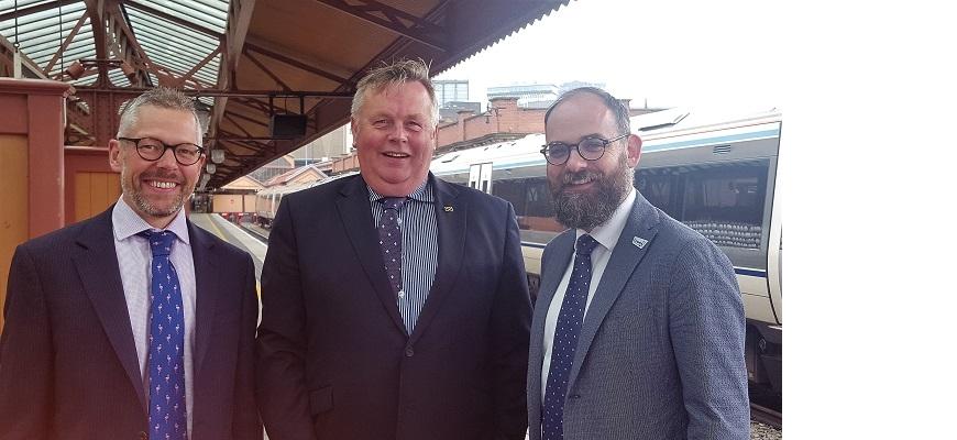 West Midlands Rail Executive and new chair, Cllr Mark Winnington