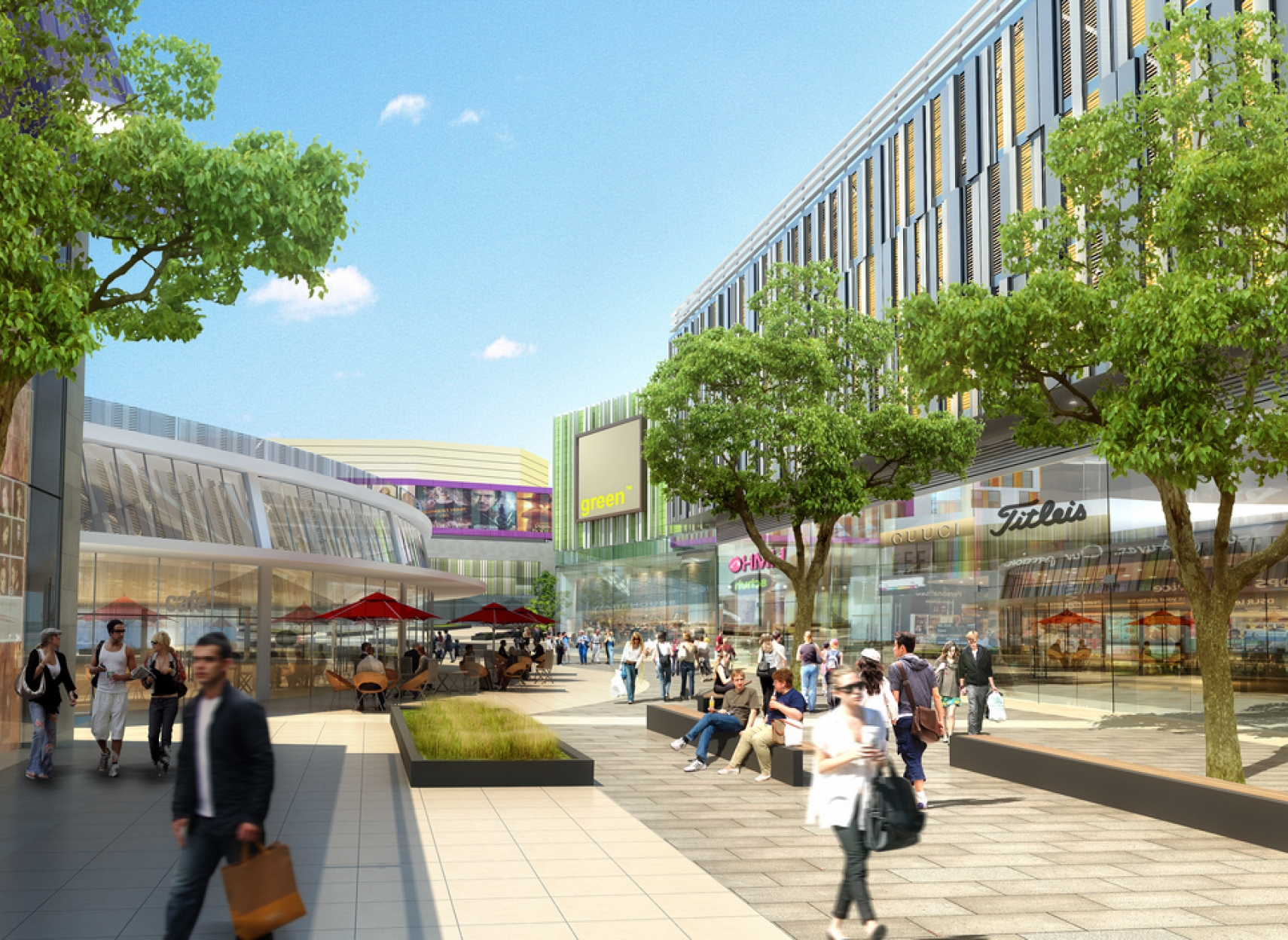 Illustrastion of Coventry City Centre south redevelopment